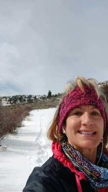 Karen in the Snow!